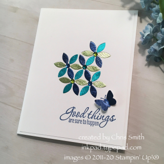 Stampin' Up!'s Tasteful Textures bundle card by Chris Smith at inkpad.typepad.com