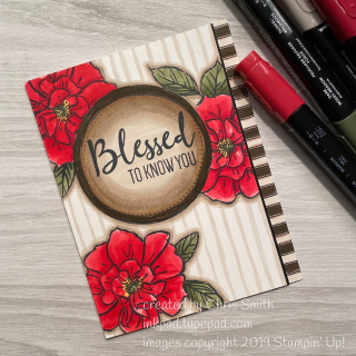 Su Stampin' Up To A Wild Rose Swirly Frames card by CHris Smith at inkpad.typepad.com