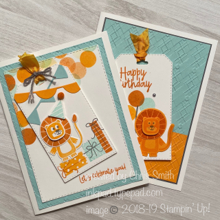 Stampin' Up! BIrthday Bonanza duo by Chris Smith at inkpad.typepad.com