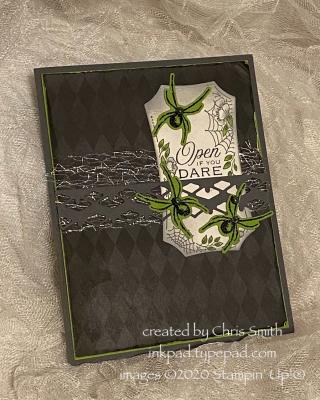 Open if you Dare halloween Night Magic card at inkpad.typepad.com