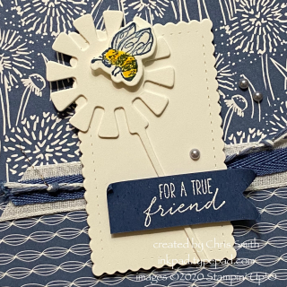 PCC402 close up Stampin Up! Garden Wishes card