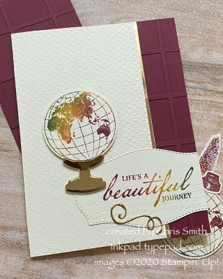 CC808 Beautiful Journey Anniversary Card