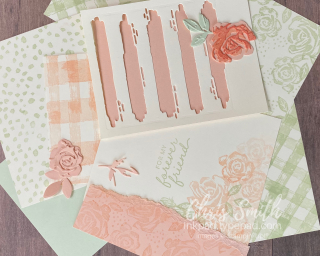 Playtime with Brushed Blossoms by Stampin Up - Chris Smith