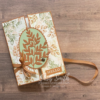 Untied Forever Fern CC834 Stampin Up Card by Chris Smith