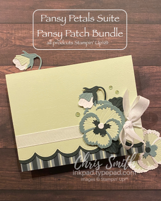 Pansy Patch Stampin' Up! card by Chris Smith