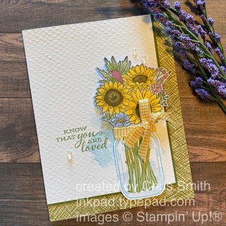 Stampin' Up! Jar of Flowers Bundle card 1 by Chris Smith at inkpad.typepad.com