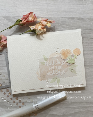 Beautiful Friendship Vellum Birthday Card at inkpad.typepad.com
