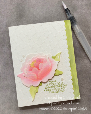 7.20 Prized Peony CAS card by Chris Smith for AWOW
