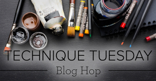 Technique Tuesday blog hop image