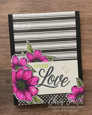 Forever & Always with True Love DSP by Stampin' Up! card 1 by Chris Smith at inkpad.typepad.com