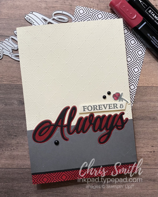 CC823 Forever & Always Stampin' Up Card by Chris Smith