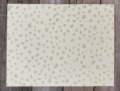 Dots brushed blooms
