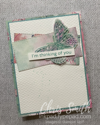 PCC415 Butterfly Brilliance Stampin Up Card by Chris Smith