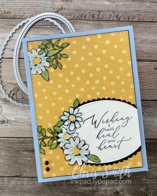 Heal Your Heart Sale-A-Bration Stampin' Up Card by Chris Smith