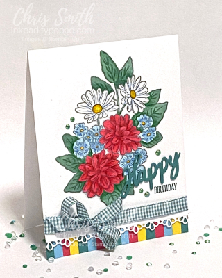 Ornate Garden A Wish for Everything Stampin Up Birthday Card by Chris Smith