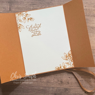 Open Forever Fern CC834 Stampin Up Card by Chris Smith