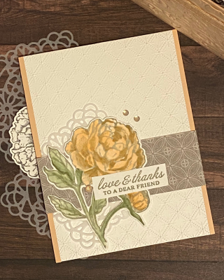 PCC417 Peony Garden Stampin Up Card by Chris Smith