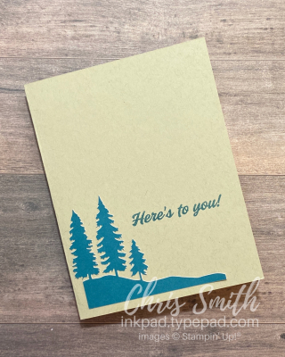 PP Here's To You Laser cut stampin up paper pumpkin cards by Chris Smith