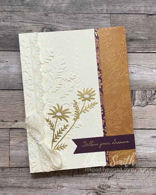 Shimmer Vellum Beauty of Tomorrow card for AWOW