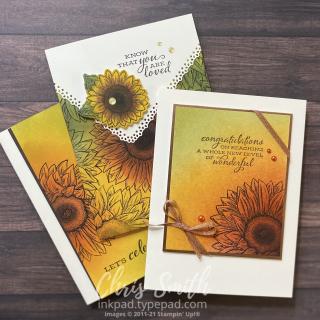 Celebrate Sunflowers Blended Trio