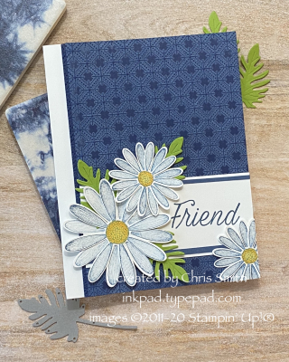 CC804 Daisy Lane Friend card by Chris Smith at inkkpad.typepad.com