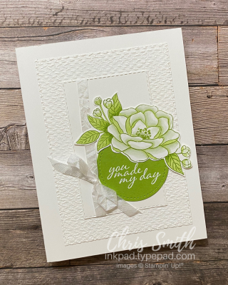 Stampin' Up So Much Love white card by Chris Smith at inkpad.typepad.com