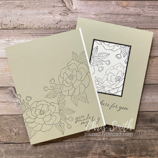 Stampin' Up So Much Love Basic Card Duo by Chris Smith at inkpad.typepad.com
