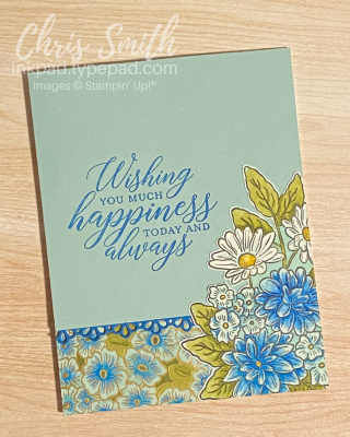 Pool Party Ornate Style So Sentimental Stampin up card by Chris Smith