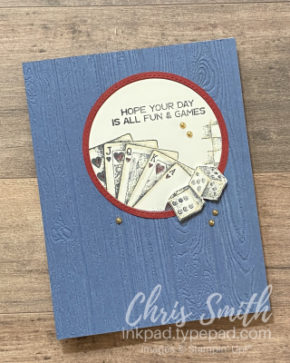 Game On Stampin Up BIrthday Card by Chris Smith