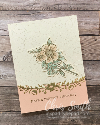 CC867 Heart & Home Stampin up birthday card