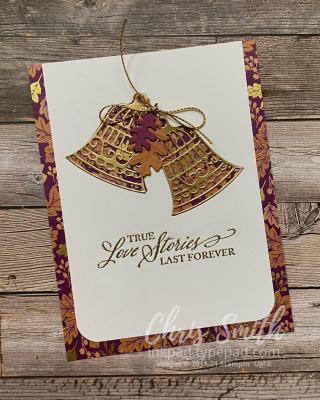 Elegantly Said Stampin Up Wedding Card